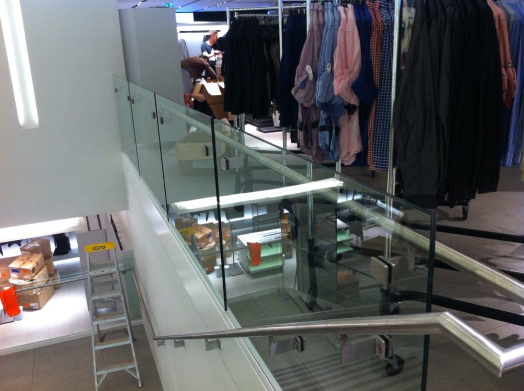 Shop Balustrade